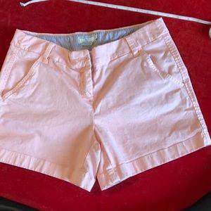 Pale pink shorts. Southern Tides, The Skipjack,